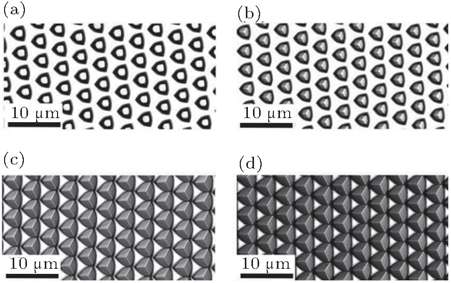 Design of patterned sapphire substrates for gan based for Xref table design