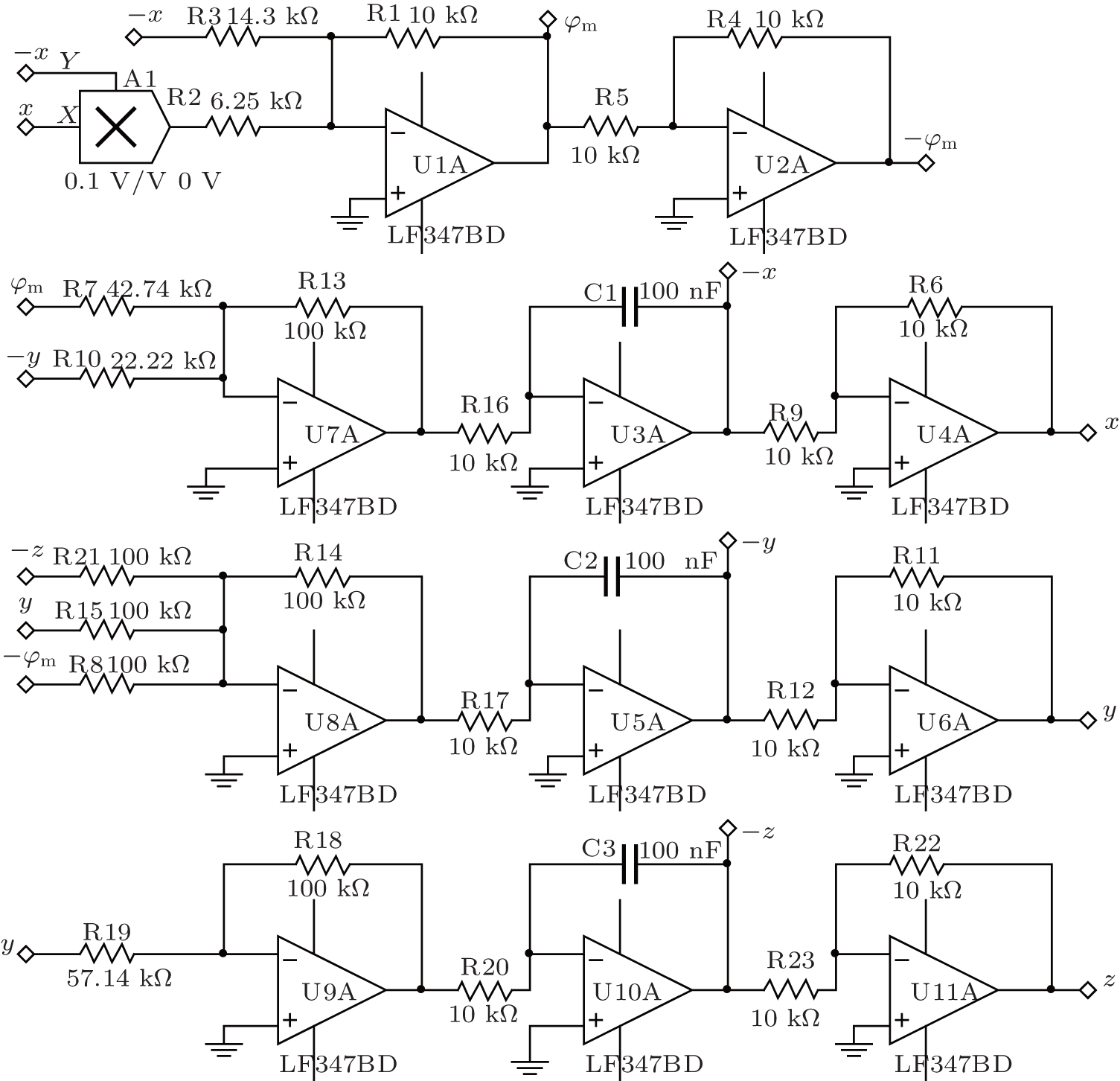 Memcapacitor Model And Its Application In A Chaotic Oscillator Circuit Diagram Oscillatorcircuit Signalprocessing View Download New Window