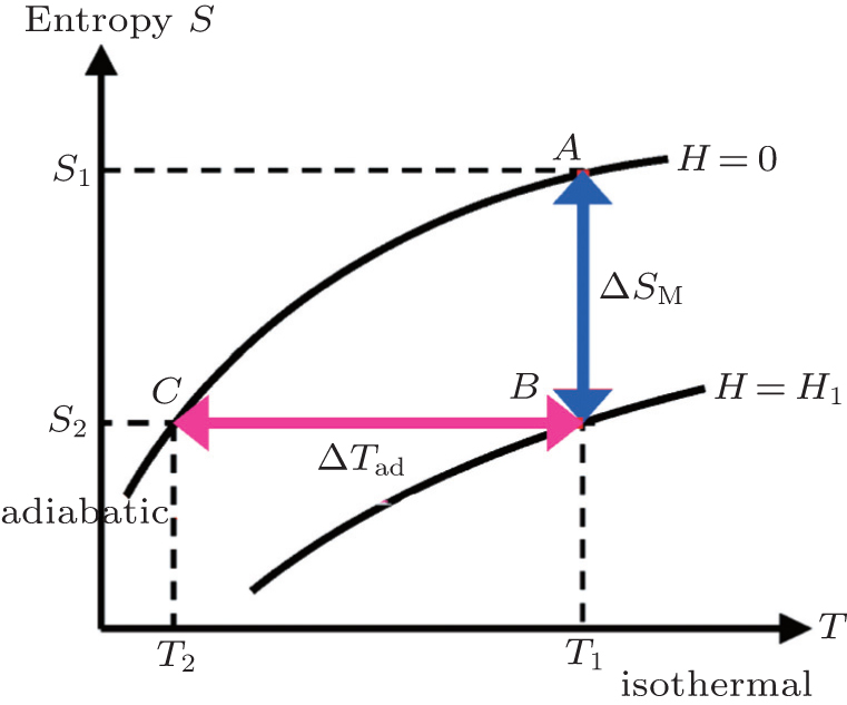 Review of magnetic properties and magnetocaloric effect in the ...